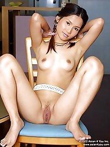 Hot Naked Asian
